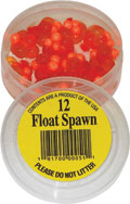 50 Bags of Floating Spawn packed in a plastic container.