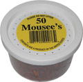 50 Mousees Packed in plastic container.